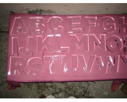Clear Acrylic letters