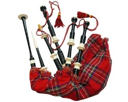 Bagpipes in Plastic Fitting
