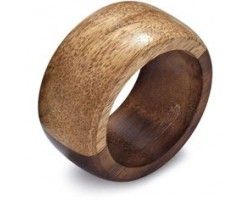 AH-777-TNWR-03      Wooden Table Napkin Ring