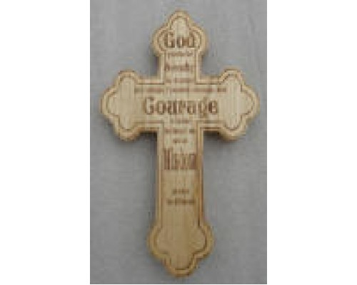 Engraving on Cross