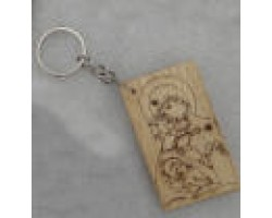 Key chain engraved