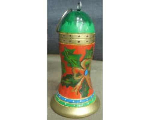 Wooden Painted Bell