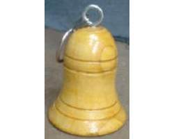 Wooden With out  Painted Bell