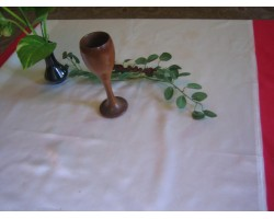 Wooden Without Painted Goblet (Model)