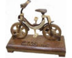 AH-777-WM-01  Wooden Model Bicycle dragon