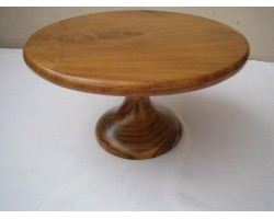 AH-777-WS-02   Wooden Cake Stand without painted