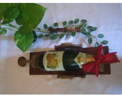 AH-777-WS-05    Wooden Wine Stand